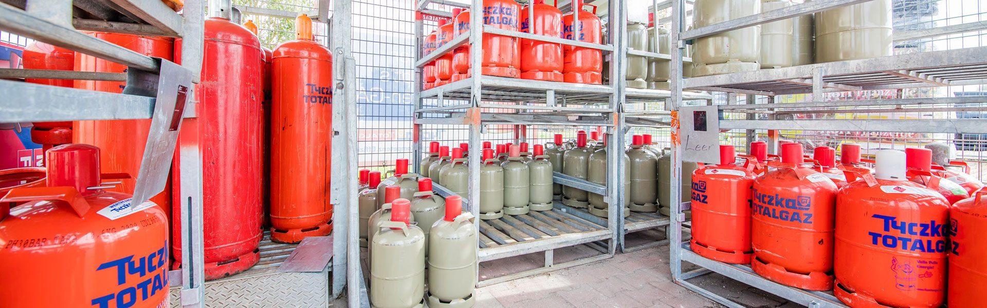 Gasflschen in Vilsbiburg