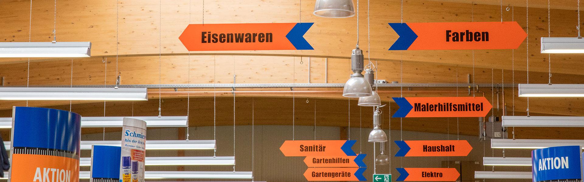 Baumarkt in Velden